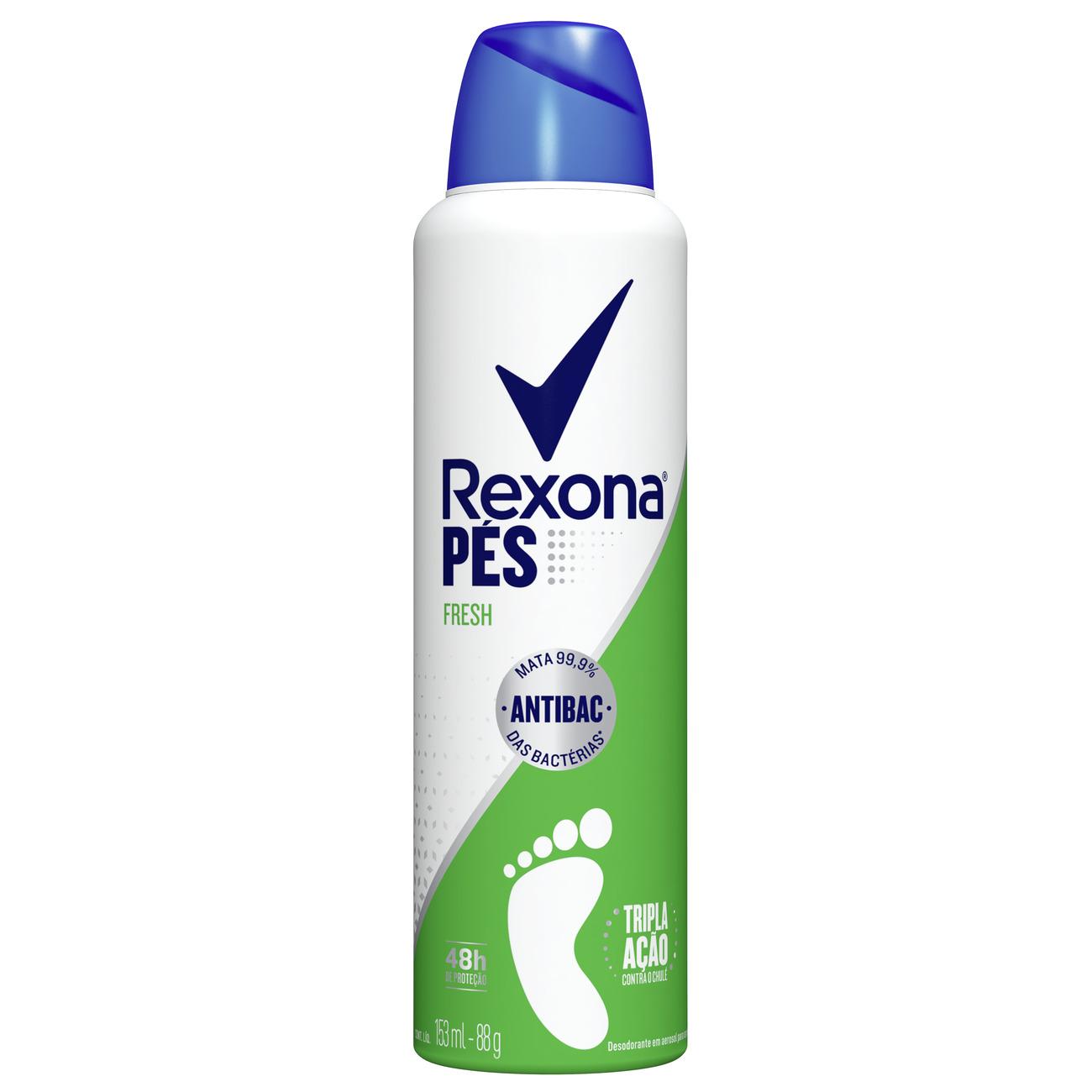 Desodorante Antitranspirante Para Pés Rexona Rexona Fresh 48h 153mL