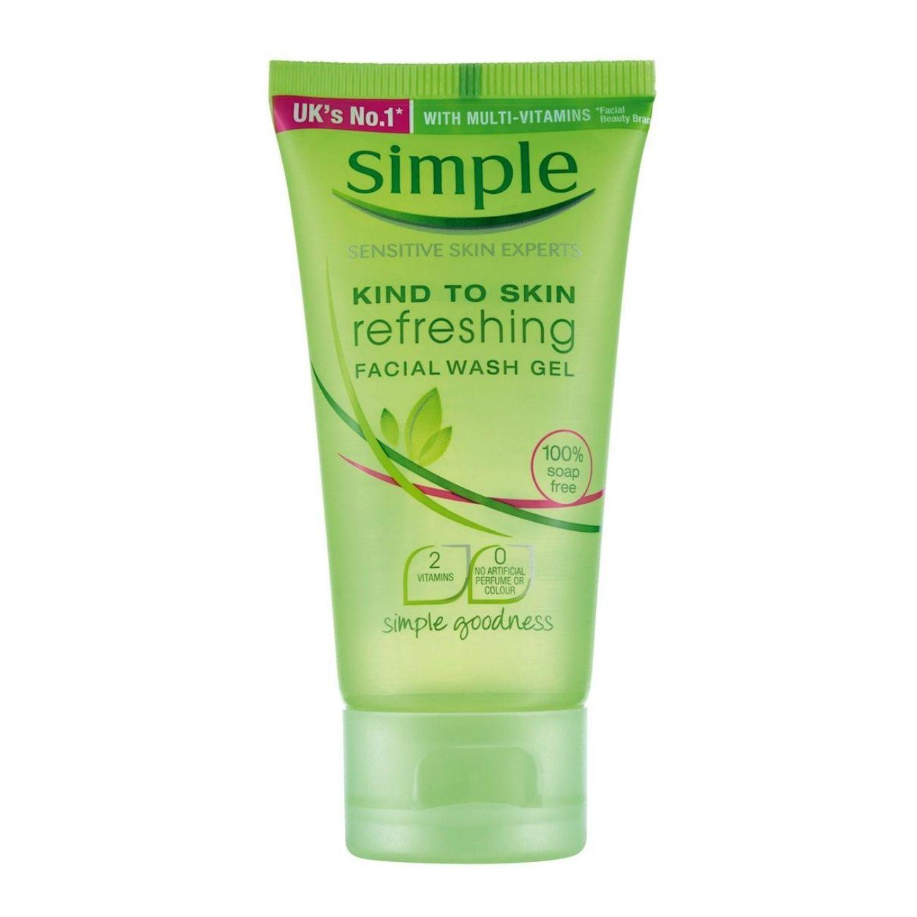 Sabonete Líquido Facial Simple Gel 50ml