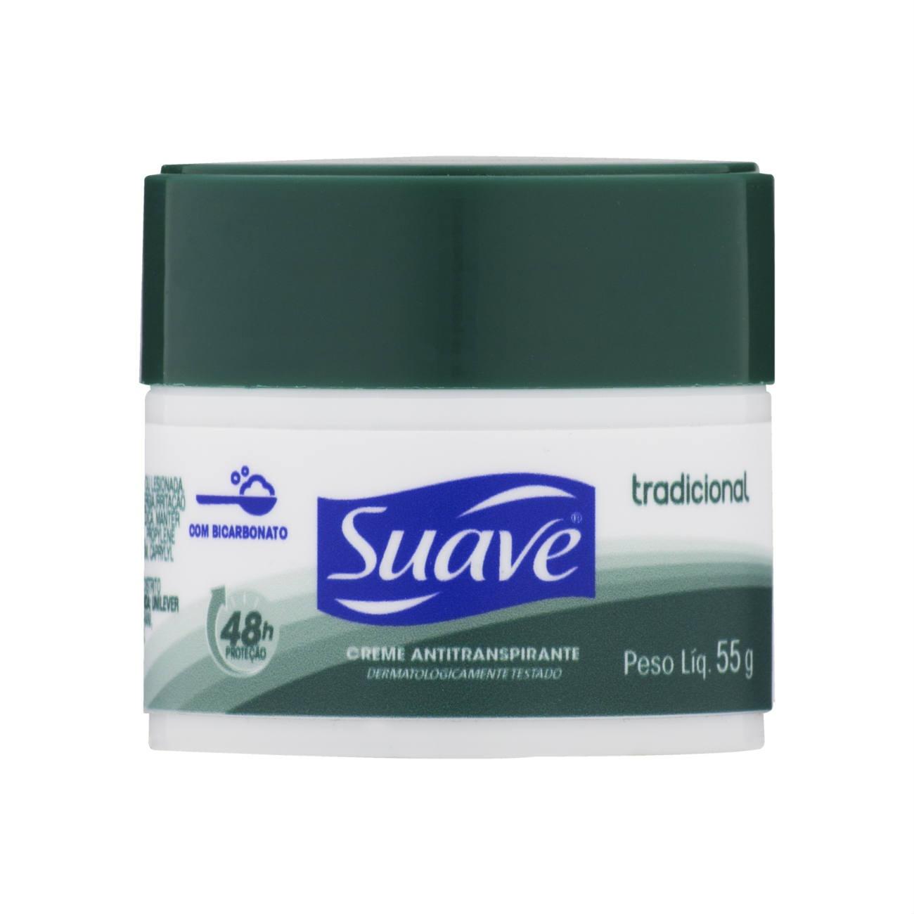 Desodorante Creme Suave Tradicional 55g