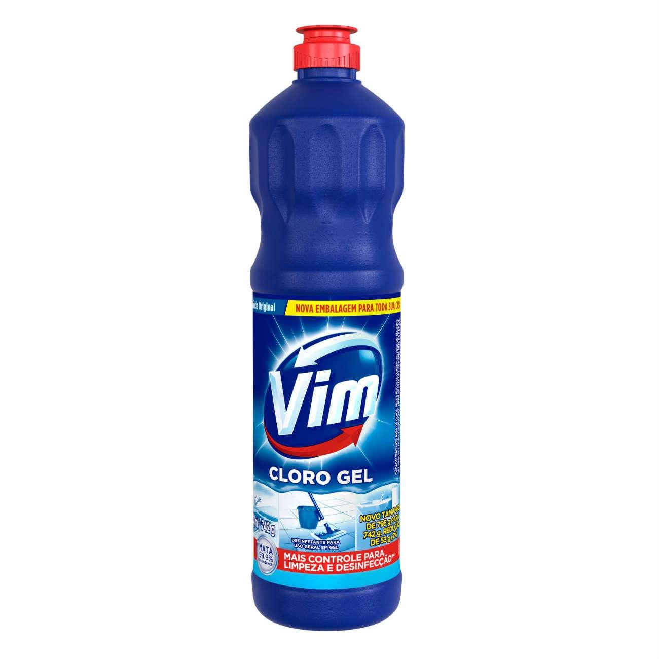 Cloro Gel VIM Aditivado Original 700ml