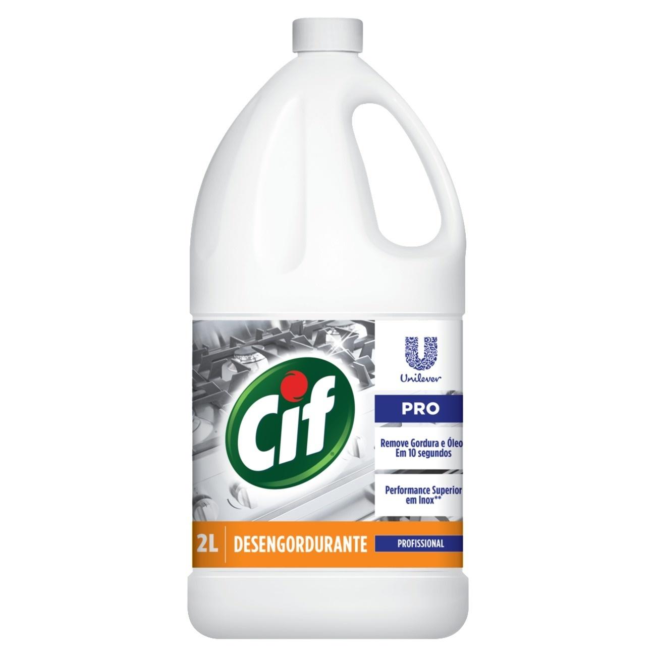 Limpador CIF Desengordurante 2L