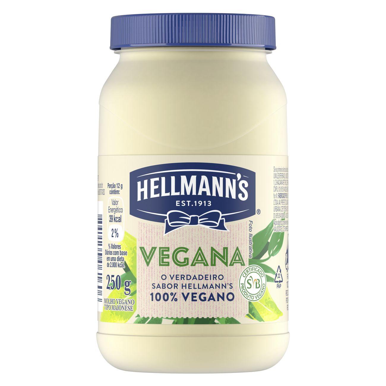 Molho Hellmann's Vegano 250g