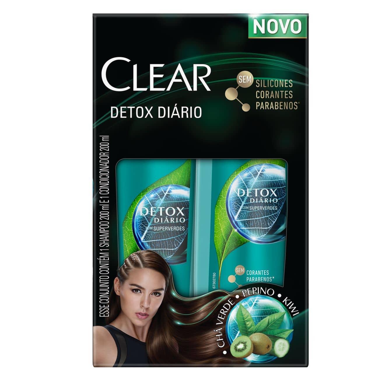 Oferta Clear Detox Shampoo 200ml + Condicionador 200ml