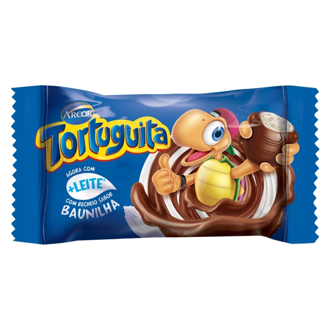 Display de Chocolate Tortuguita ao Leite 18g (24 UN/CADA)