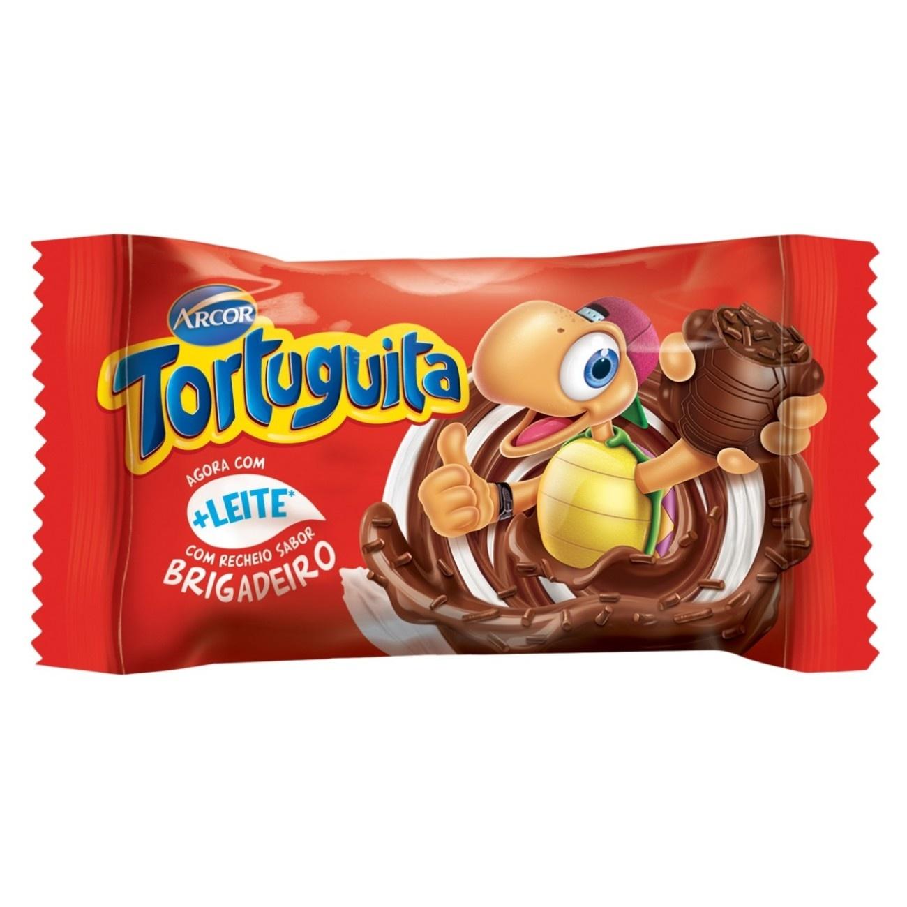 Display de Chocolate Tortuguita Brigadeiro 19g (24 UN/CADA)