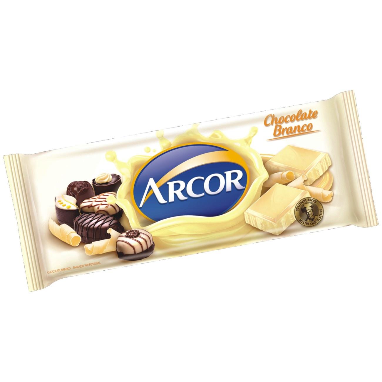 Tablete de Chocolate Branco 1,05 Kg