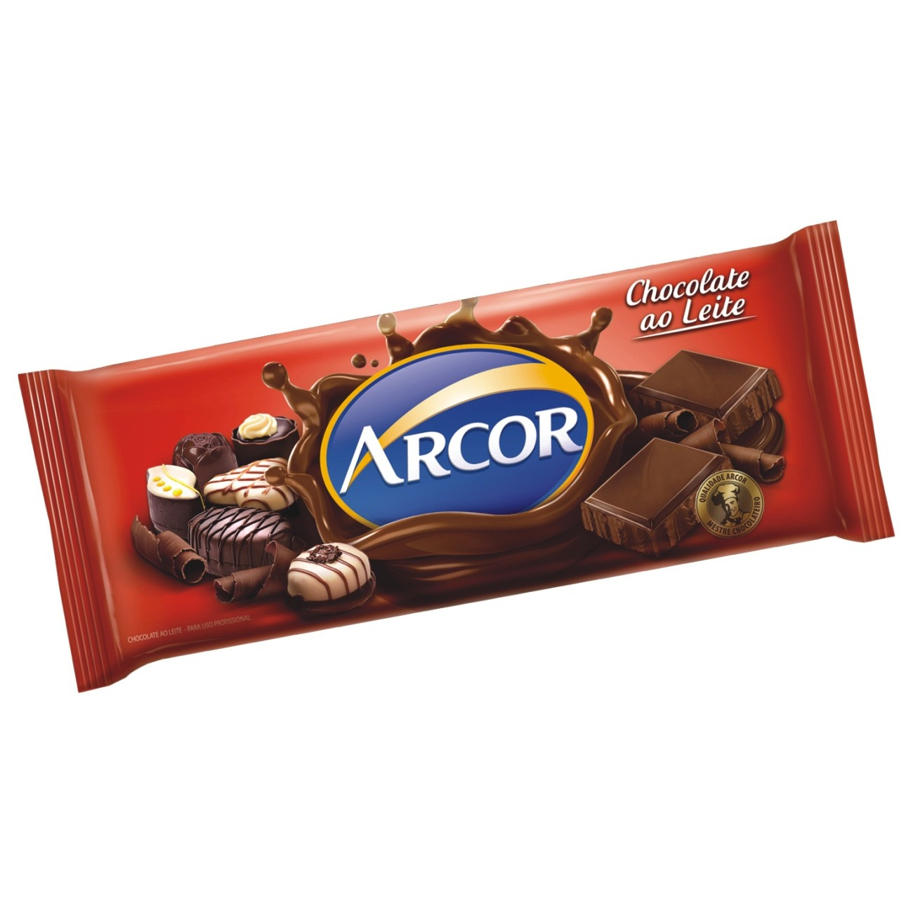 Tablete de Chocolate ao Leite 1,05 Kg