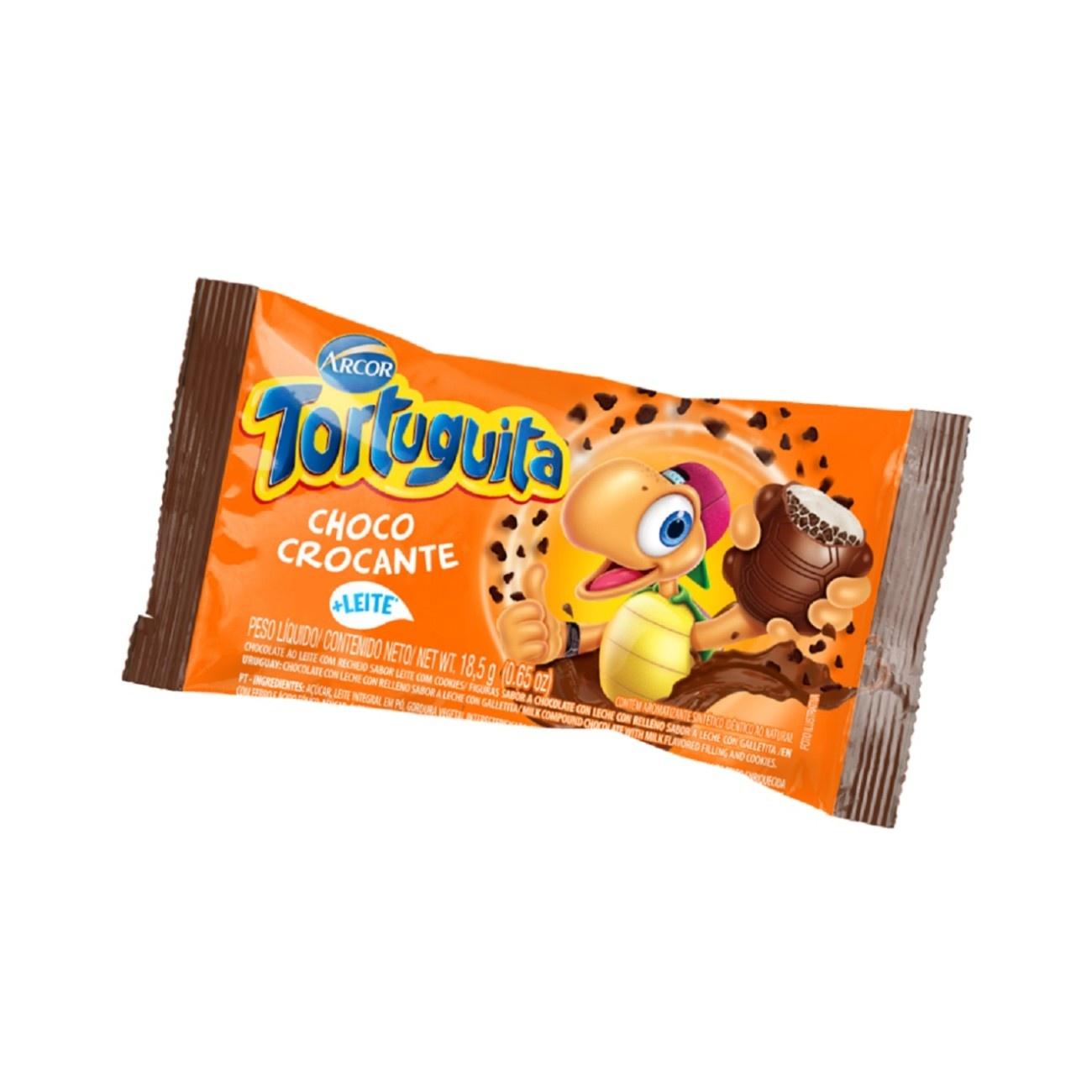 Display de Chocolate Tortuguita Choco Crocante 18,5g (24 UN/CADA)