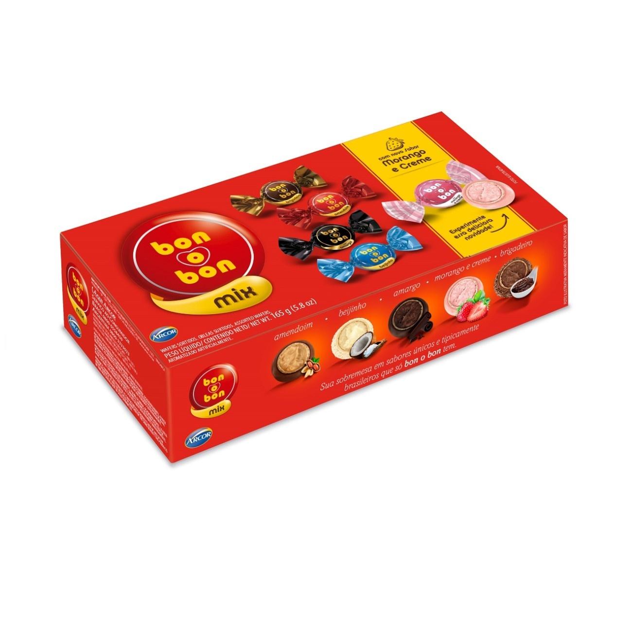 Caixa de Bombons Sortidos Bonobon 165g