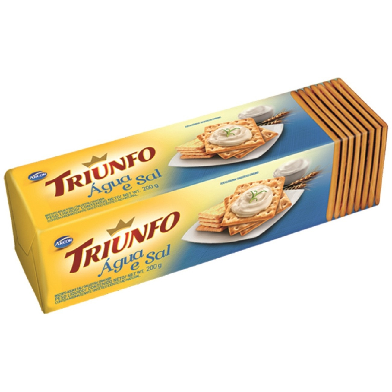 Biscoito Triunfo Água e Sal 200g