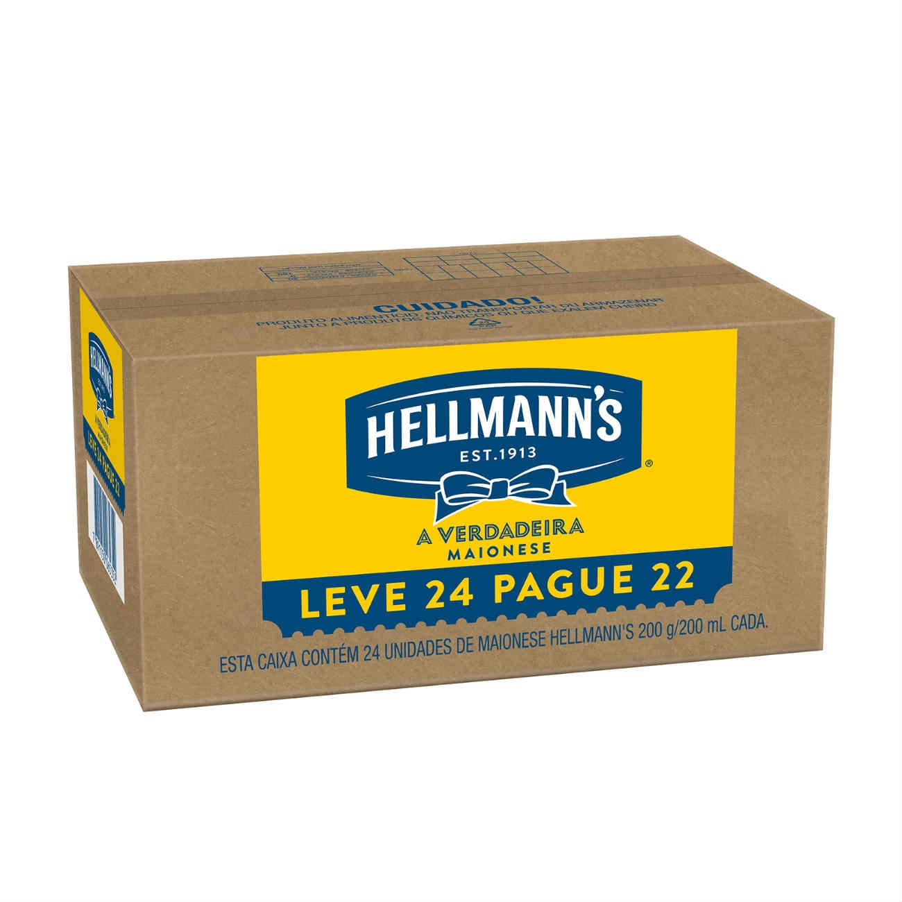 Oferta Pague 22 Leve 24 Maionese Hellmann's Tradicional 200g