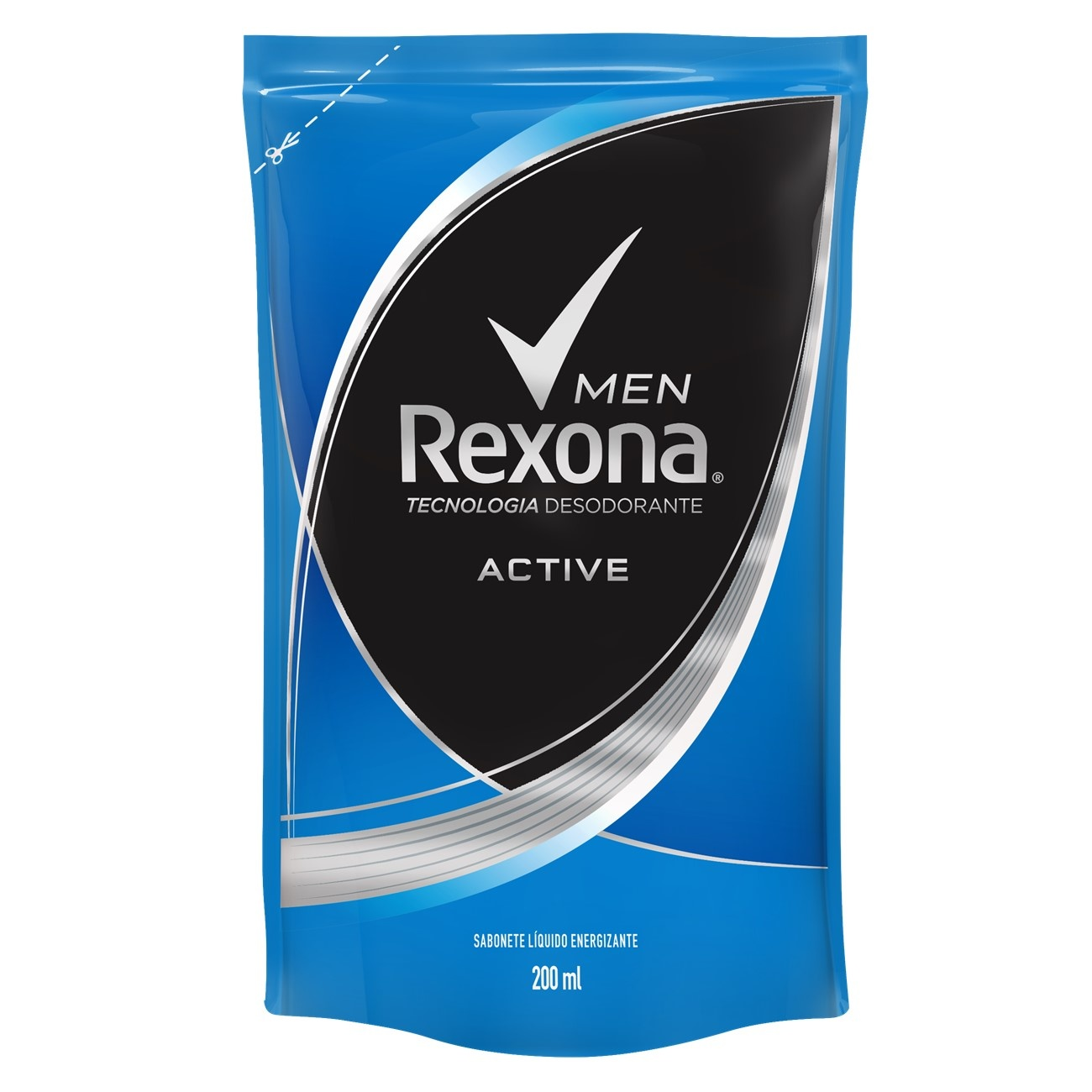 Sabonete Líquido REXONA Active Fresh 200ML Refil