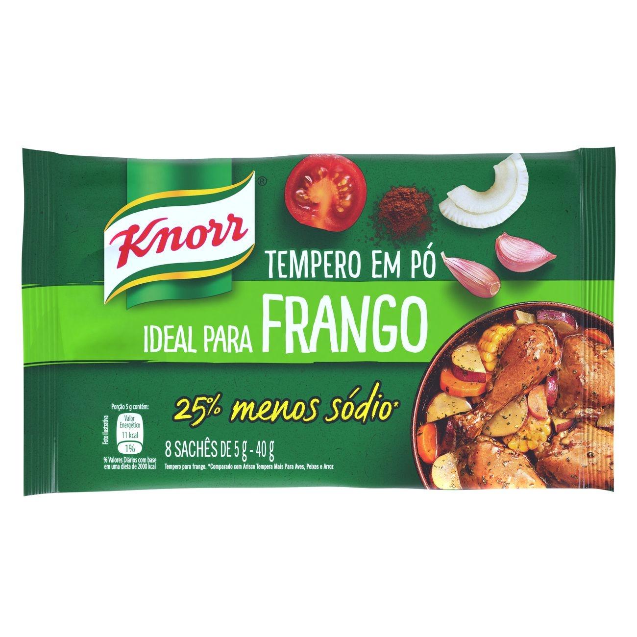 Tempero em Pó Knorr Ideal para Frango 40g