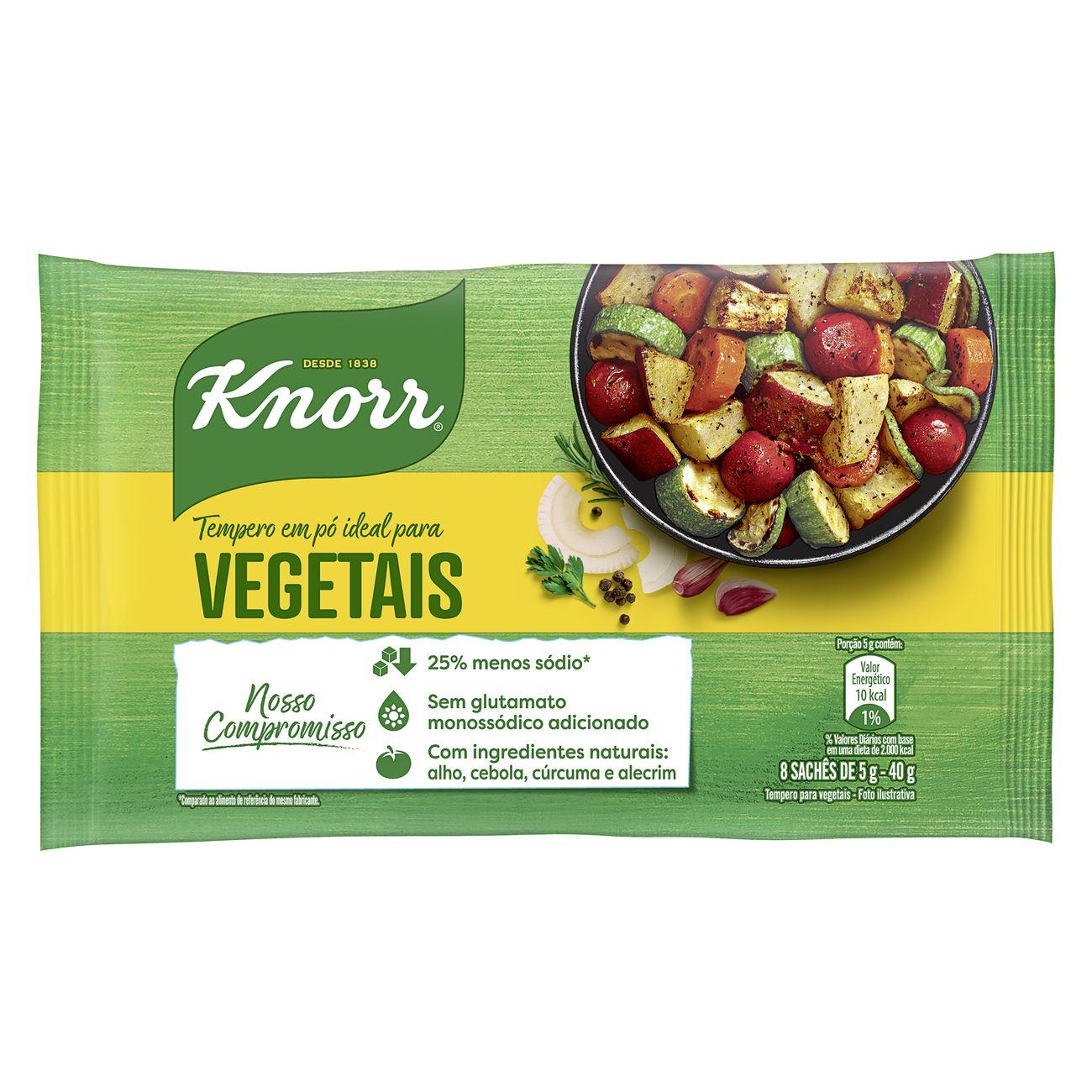 Tempero em Pó Knorr Ideal para Vegetais 40g