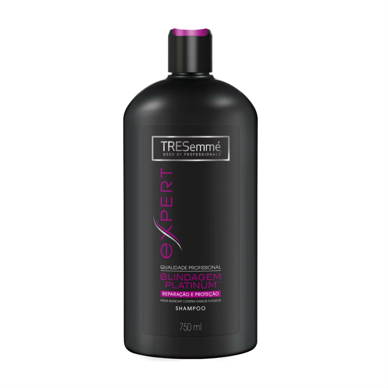 Shampoo TRESemmé Blindagem Platinum para Reparação e Proteção 750ml