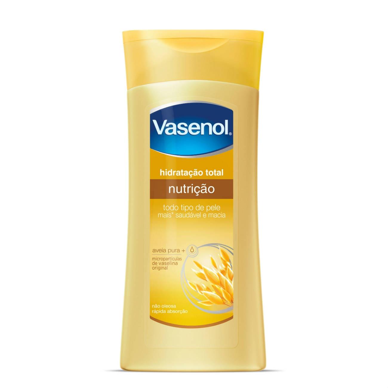 Loção Desodorante Hidratante Vasenol Hidratação Total Nutrição 400ml