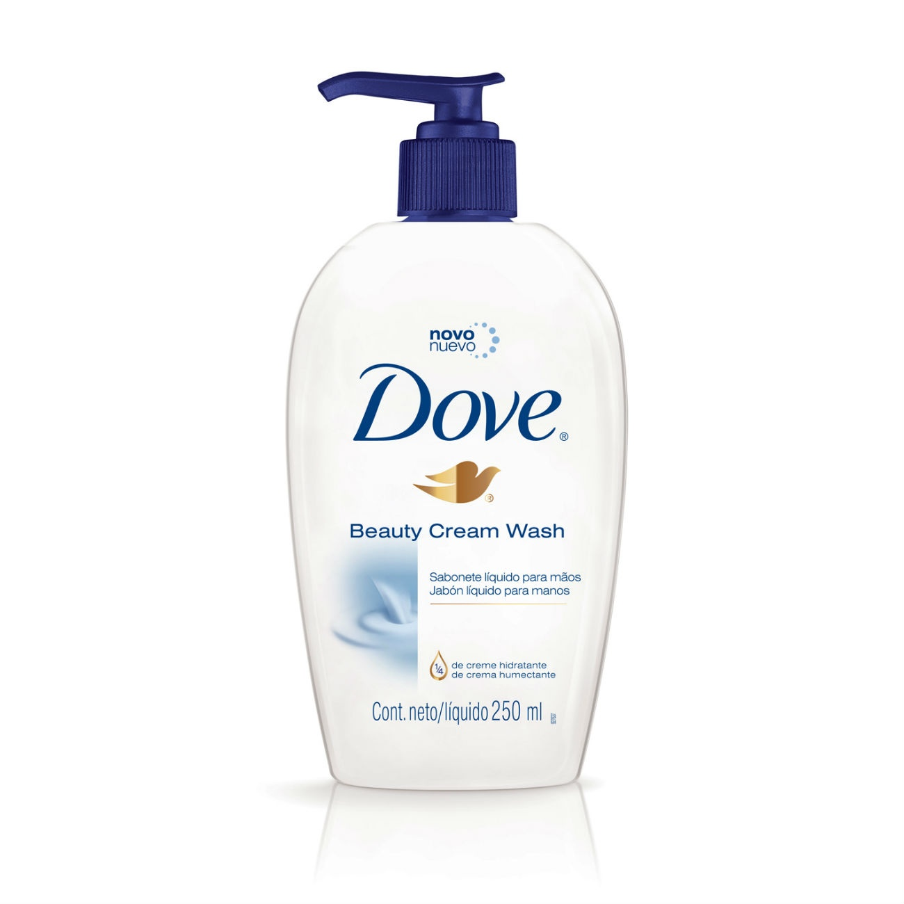 Sabonete Líquido Para Mãos Dove Beauty Cream Wash 250ml