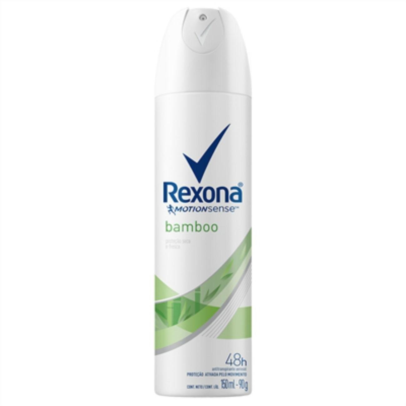 Desodorante Antitranspirante Rexona Fem Aerosol BAMBOO/VERDE 150ml