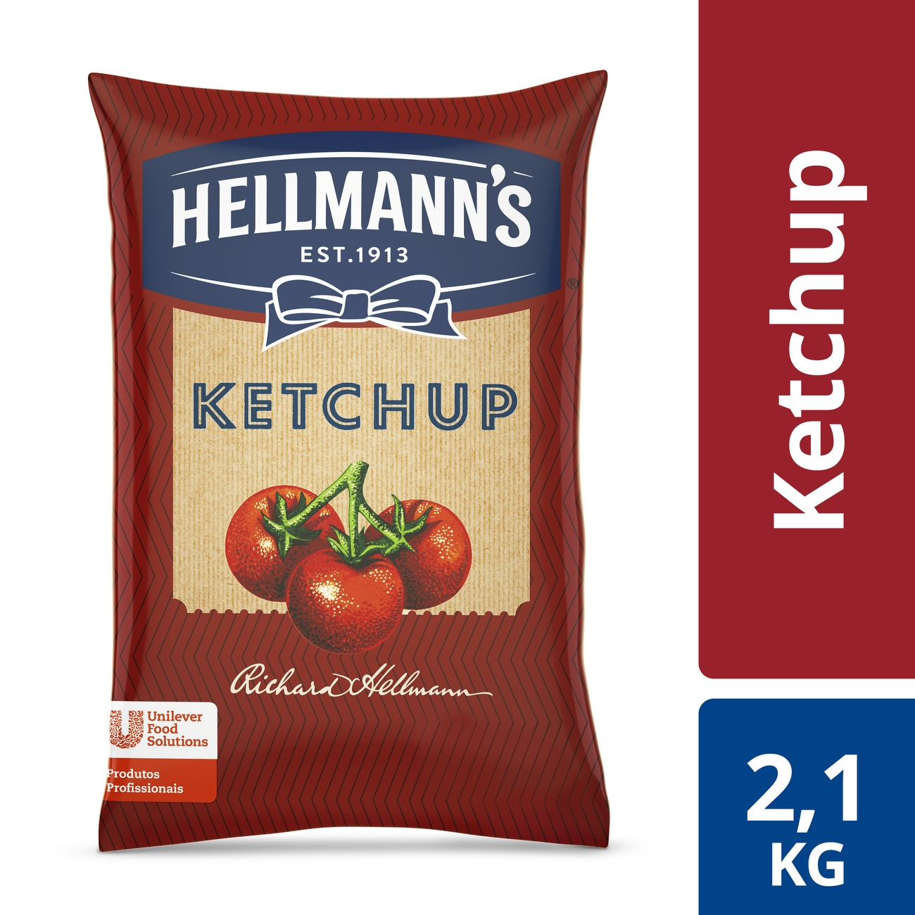 Ketchup Hellmann's Saco 2,1kg