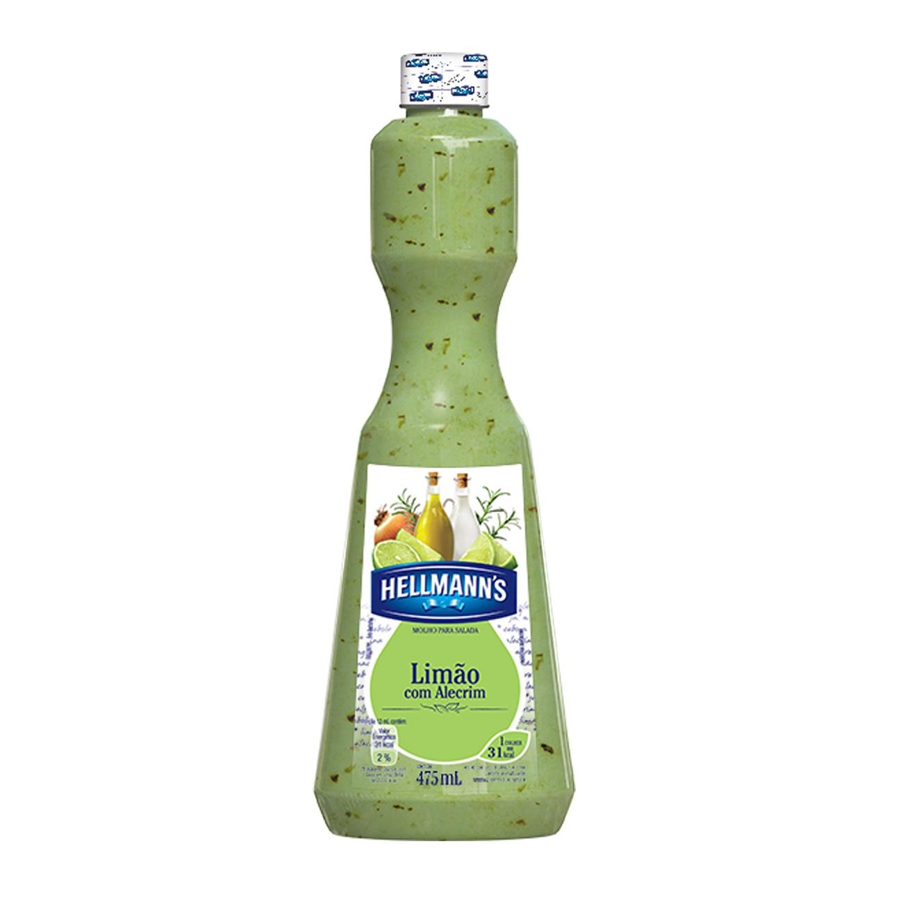 Molho Para Salada Hellmann's Limão com Alecrim 475ml