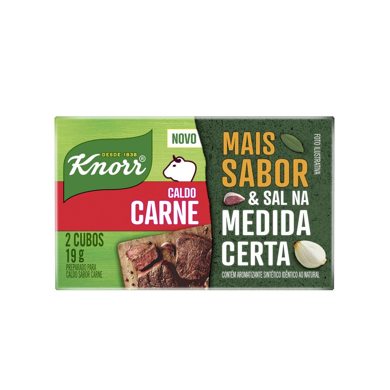 Caldo Knorr Carne 19g