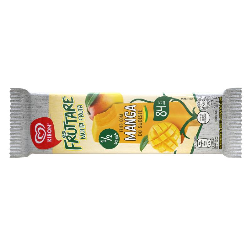 Sorvete Kibon Fruttare Manga 75ML | Caixa com 22