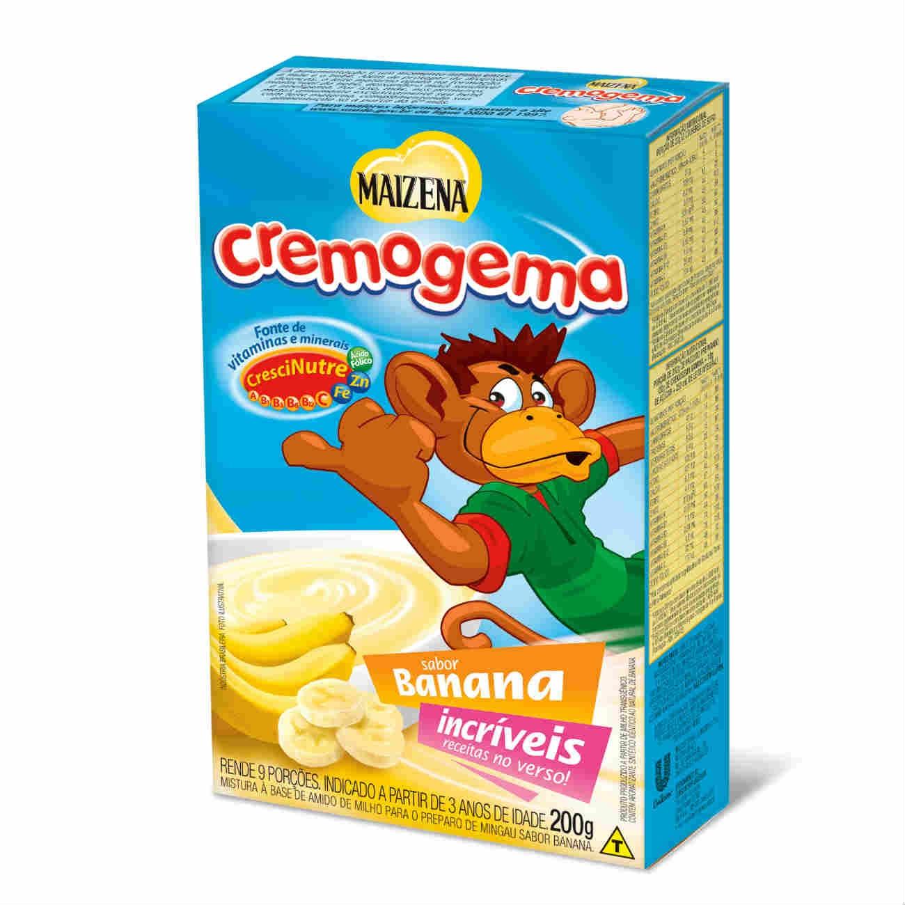 Amido de Milho Maizena Cremogema Banana 200g