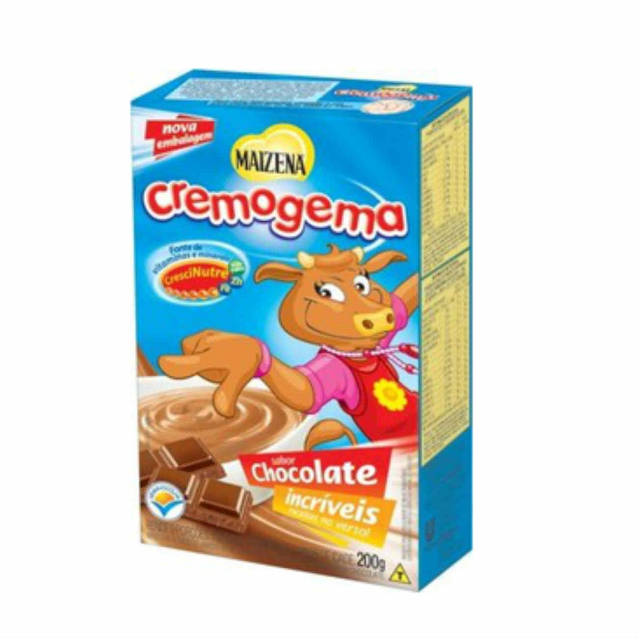 Amido de Milho Maizena Cremogema Chocolate 200g