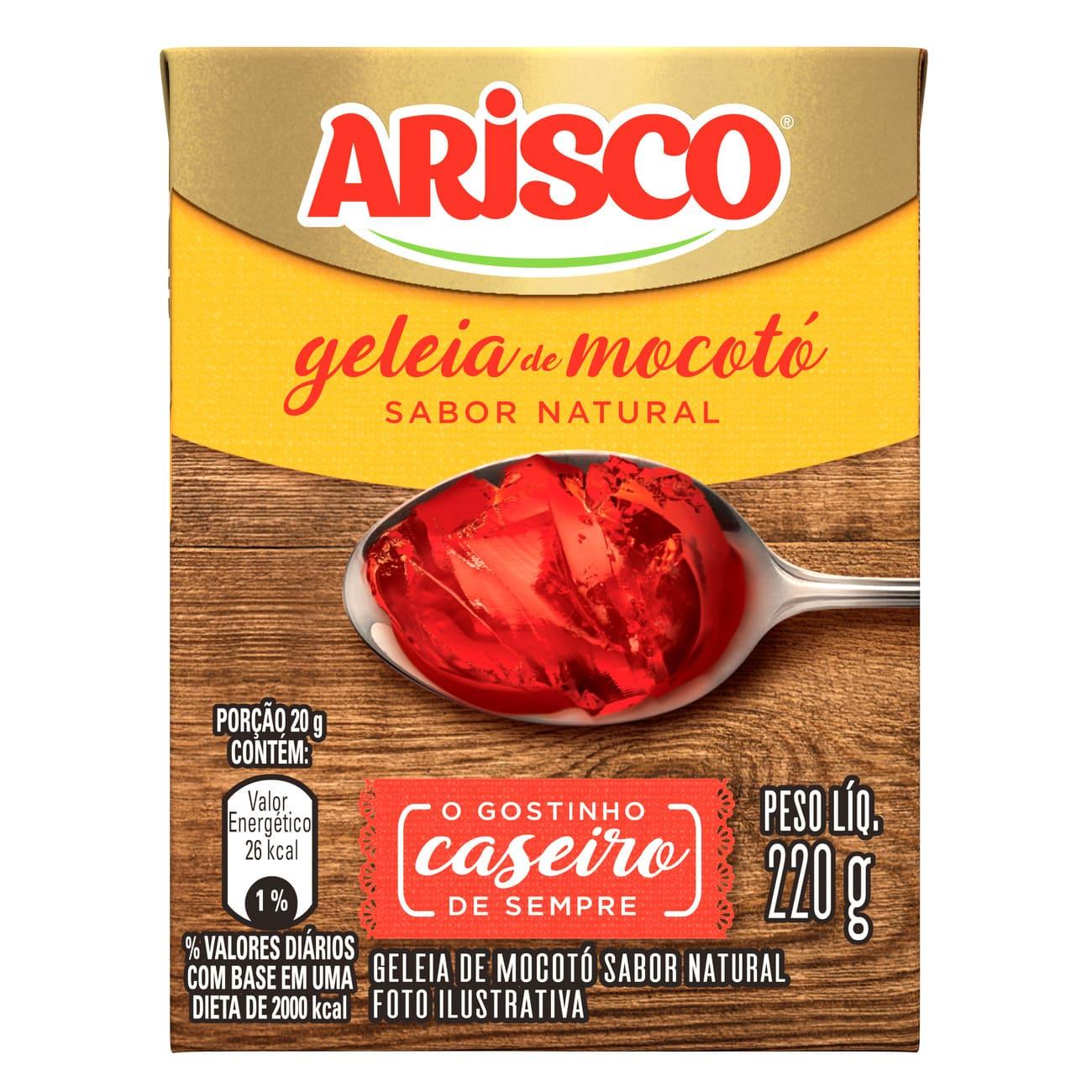 Geléia de Mocotó Arisco Natural 220g