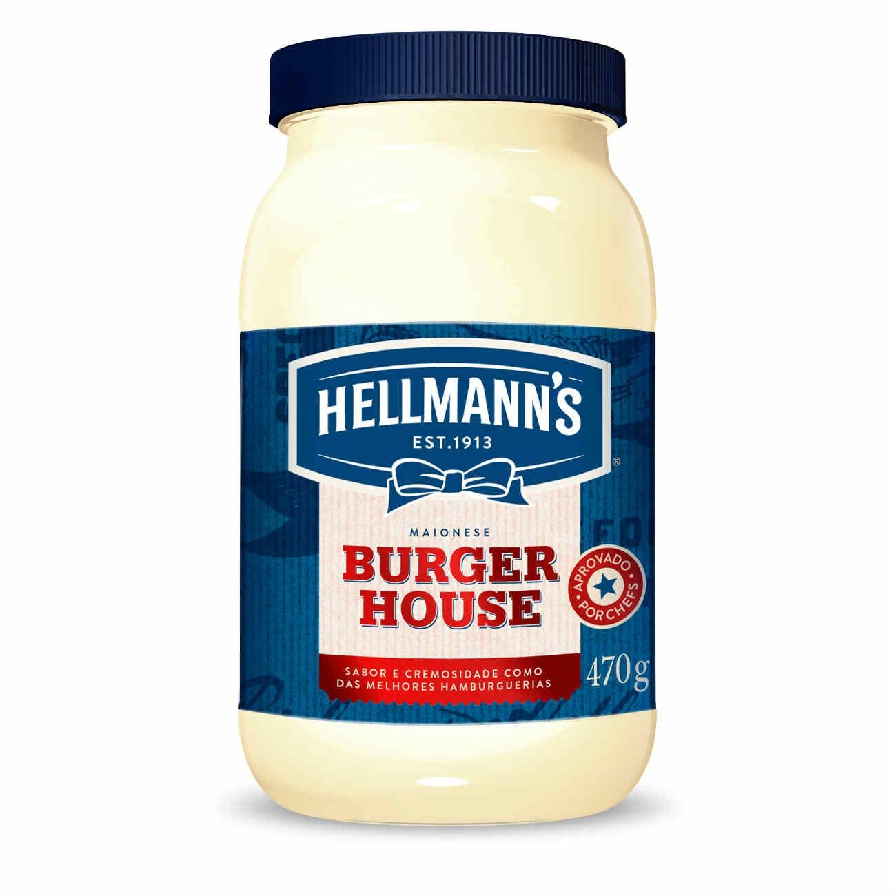 Maionese Hellmann's Burger House 470g