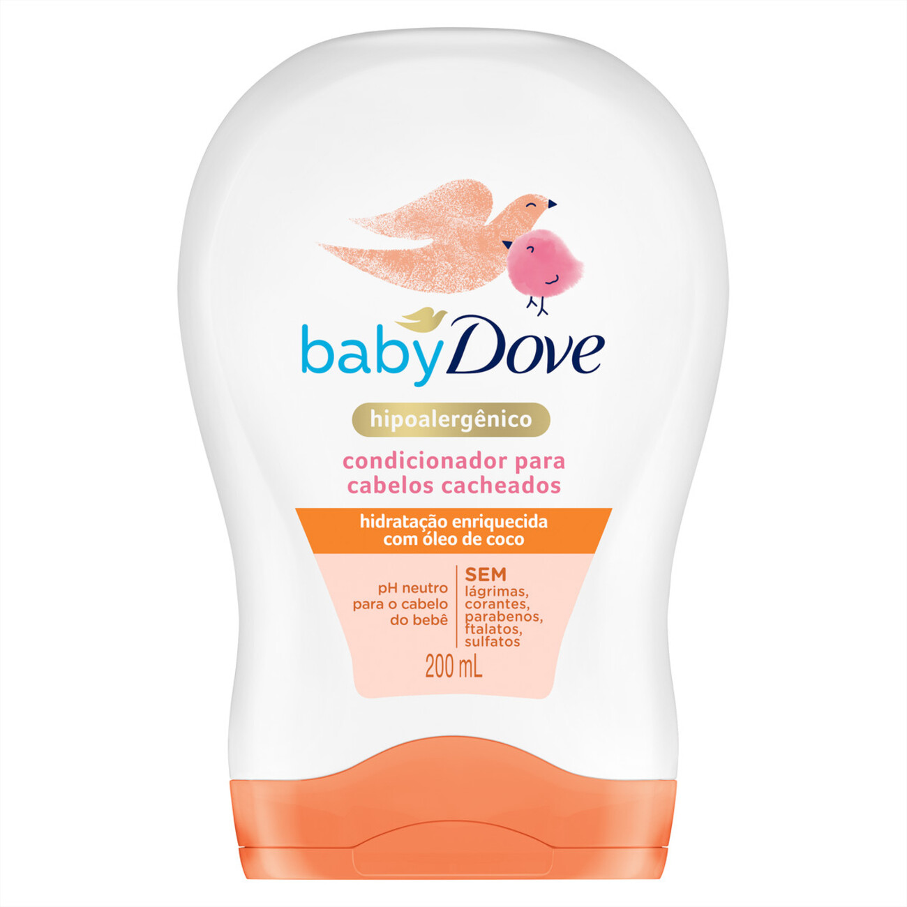 Condicionador Baby Dove Para Cabelos Cacheados 200mL