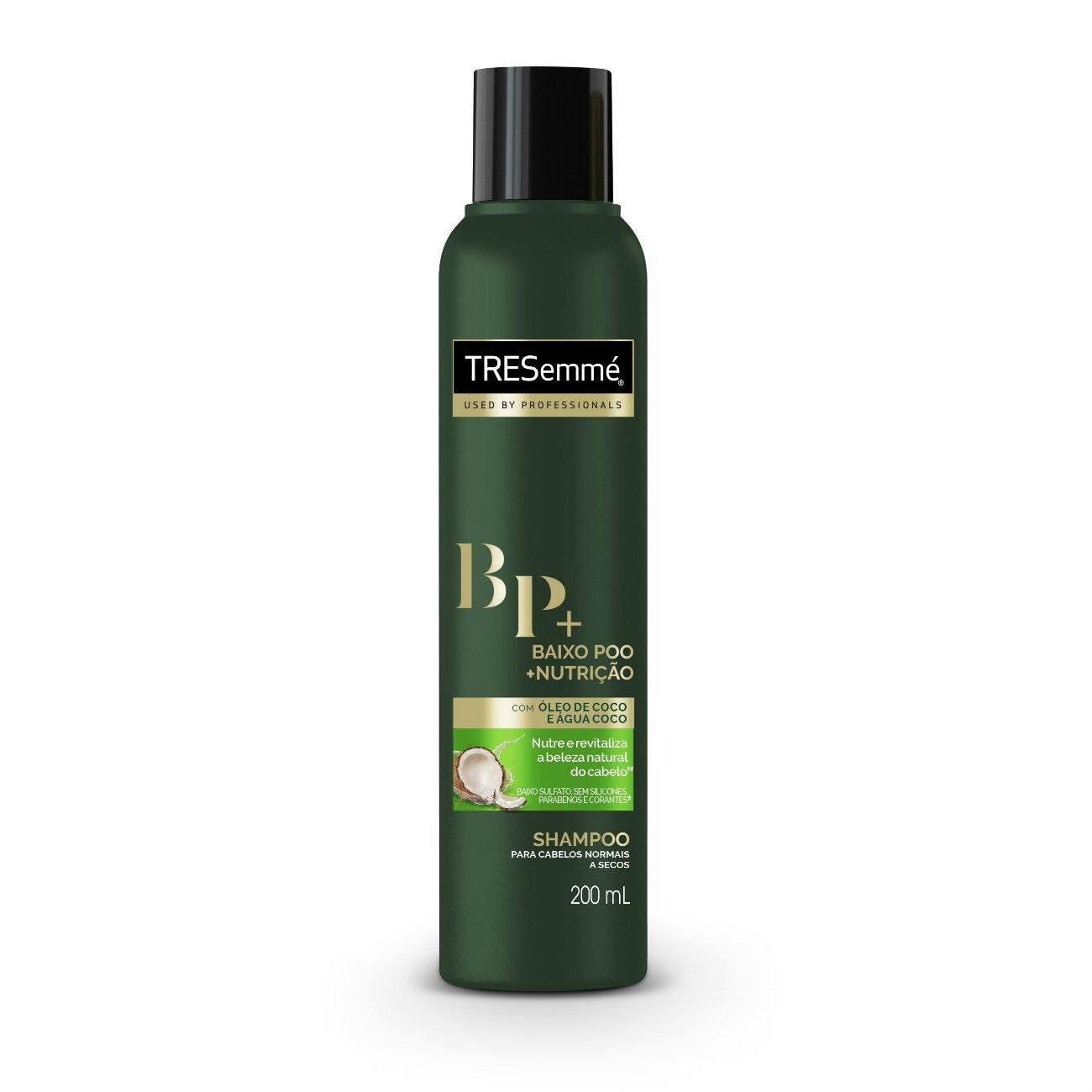 Shampoo Tresemmé Baixo Poo + Nutrição 200ml