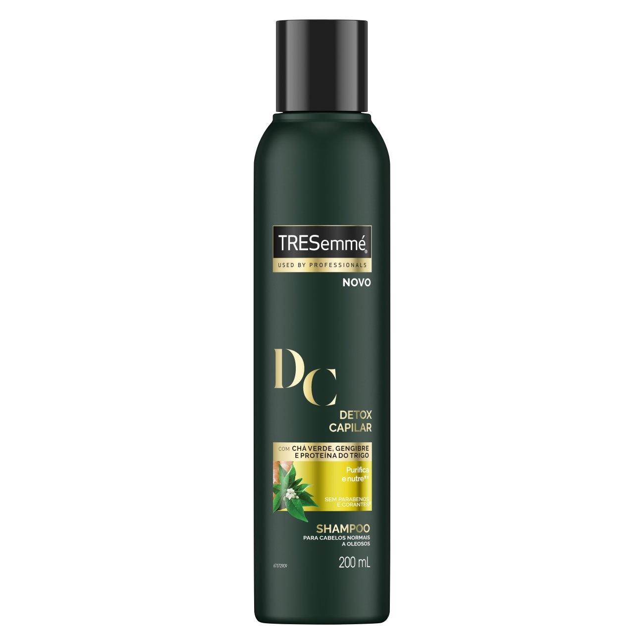 Shampoo Tresemmé Detox Capilar 200ml