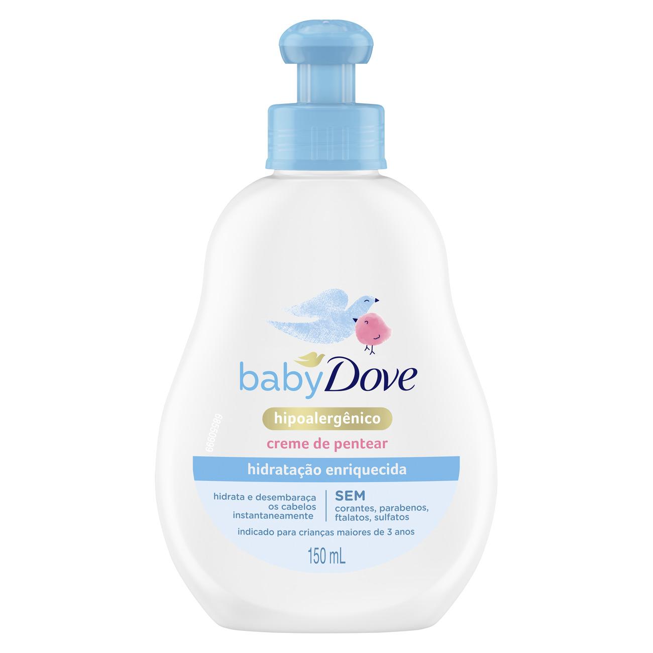 Creme para Pentear Baby Dove Hidratação Enriquecida 150mL