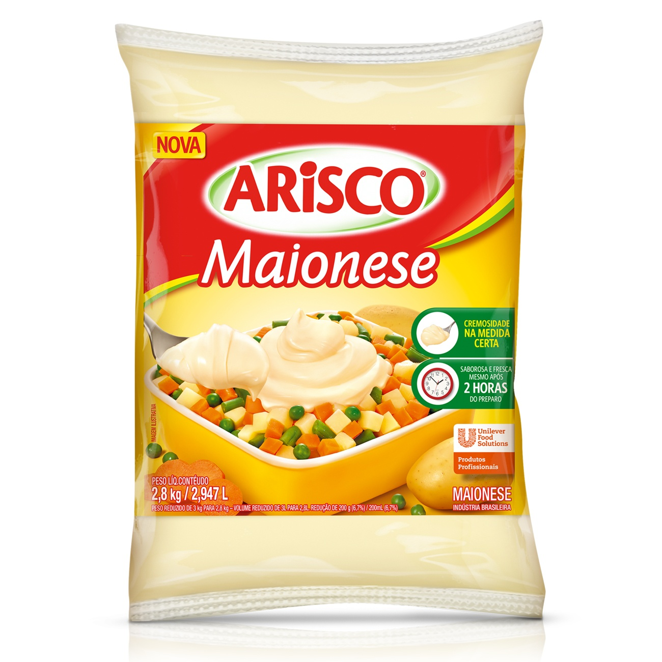 Maionese Arisco Bag 2,8kg