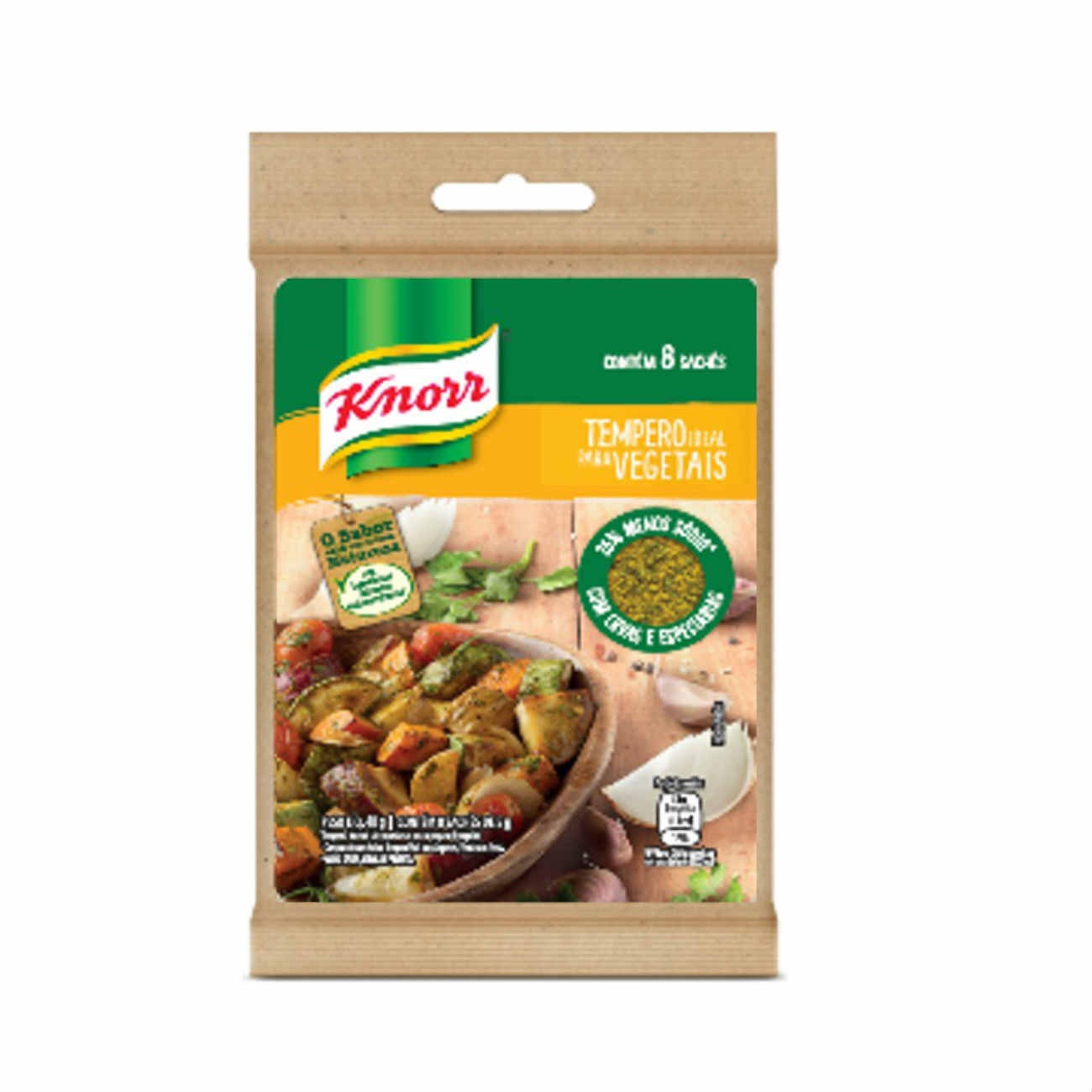 Tempero Knorr Ideal para Vegetais 40g
