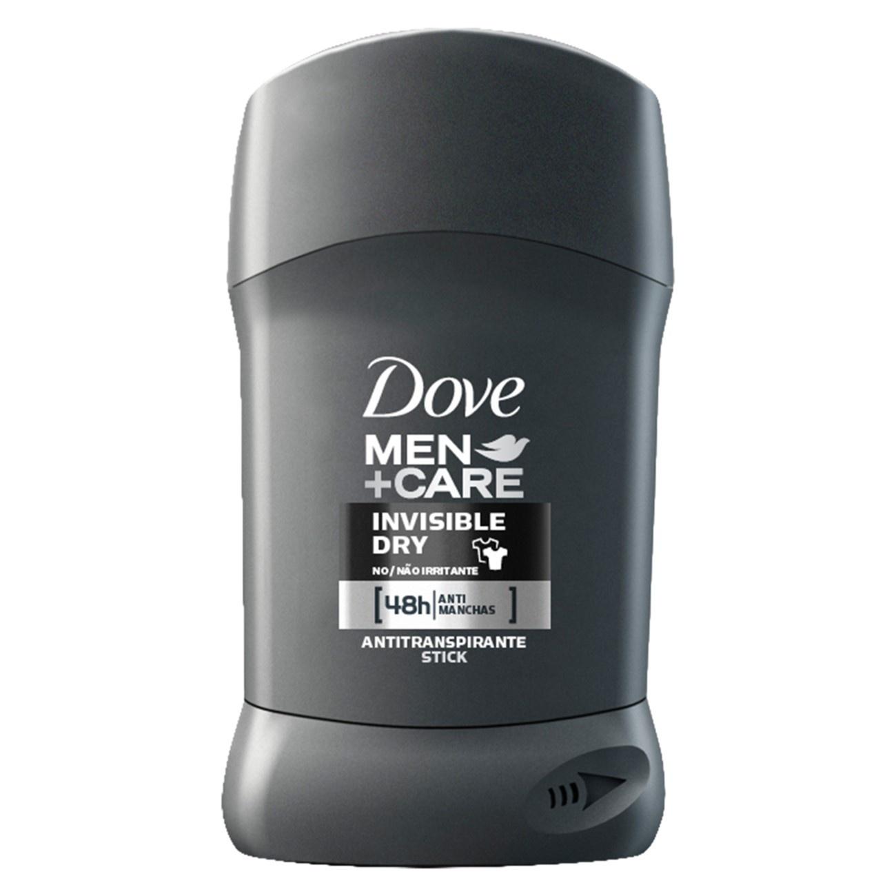 Antitranspirante Stick Dove Invisible Dry Men+Care 50g
