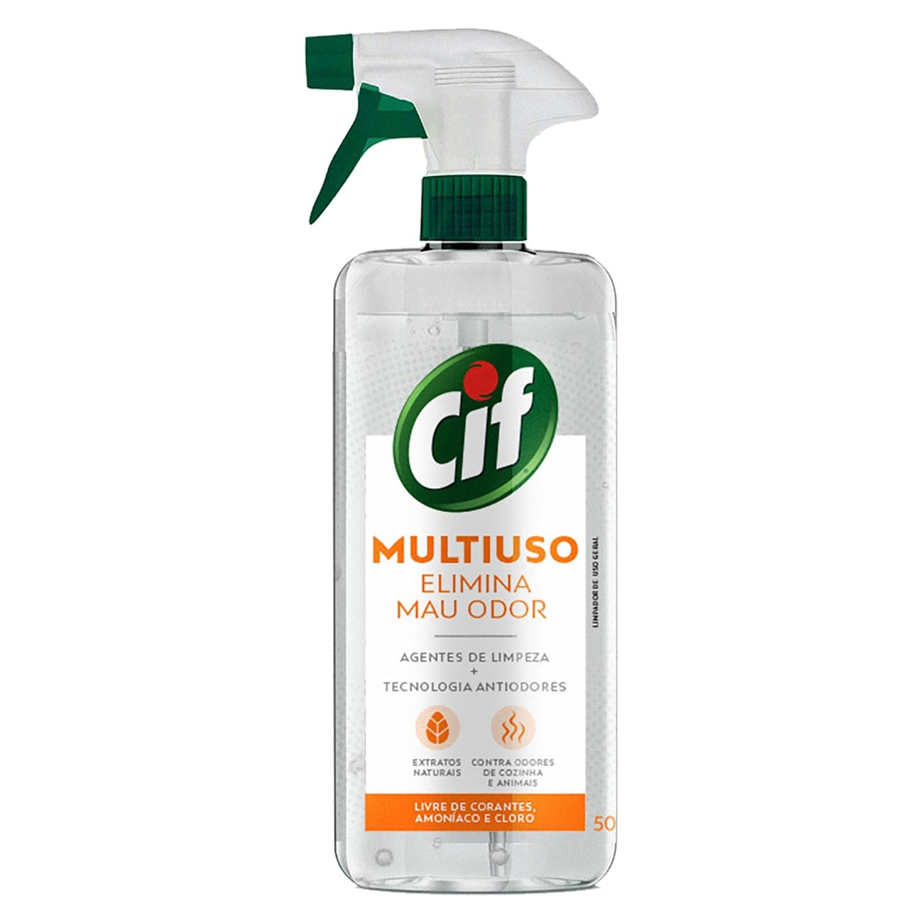 Limpador Multiuso Cif Gatilho Elimina Mau Odor 500ml