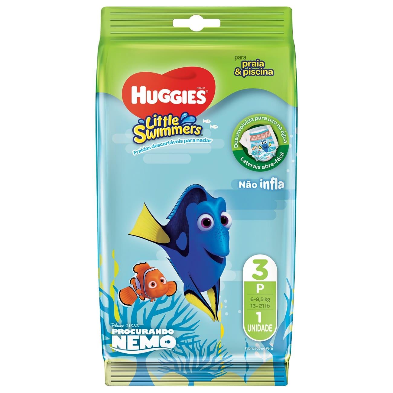 Fralda Huggies Little Swimmers P 1un