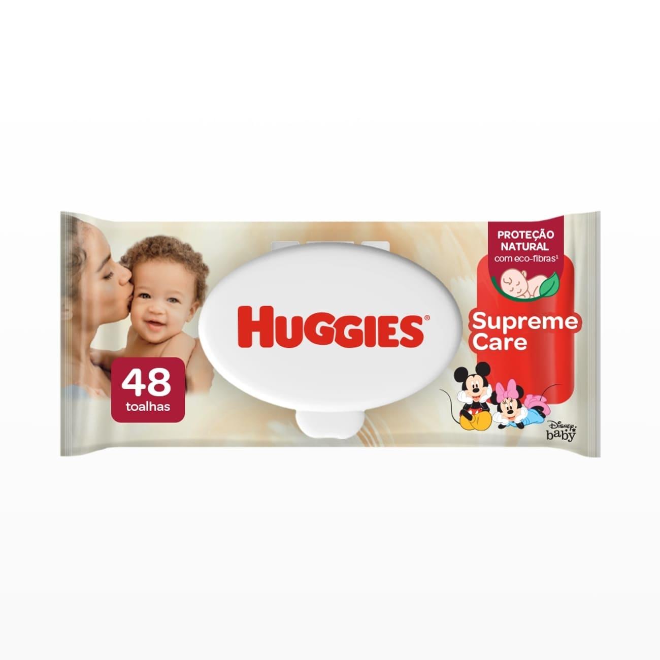 Lenços Umedecidos Huggies Supreme Care 48un