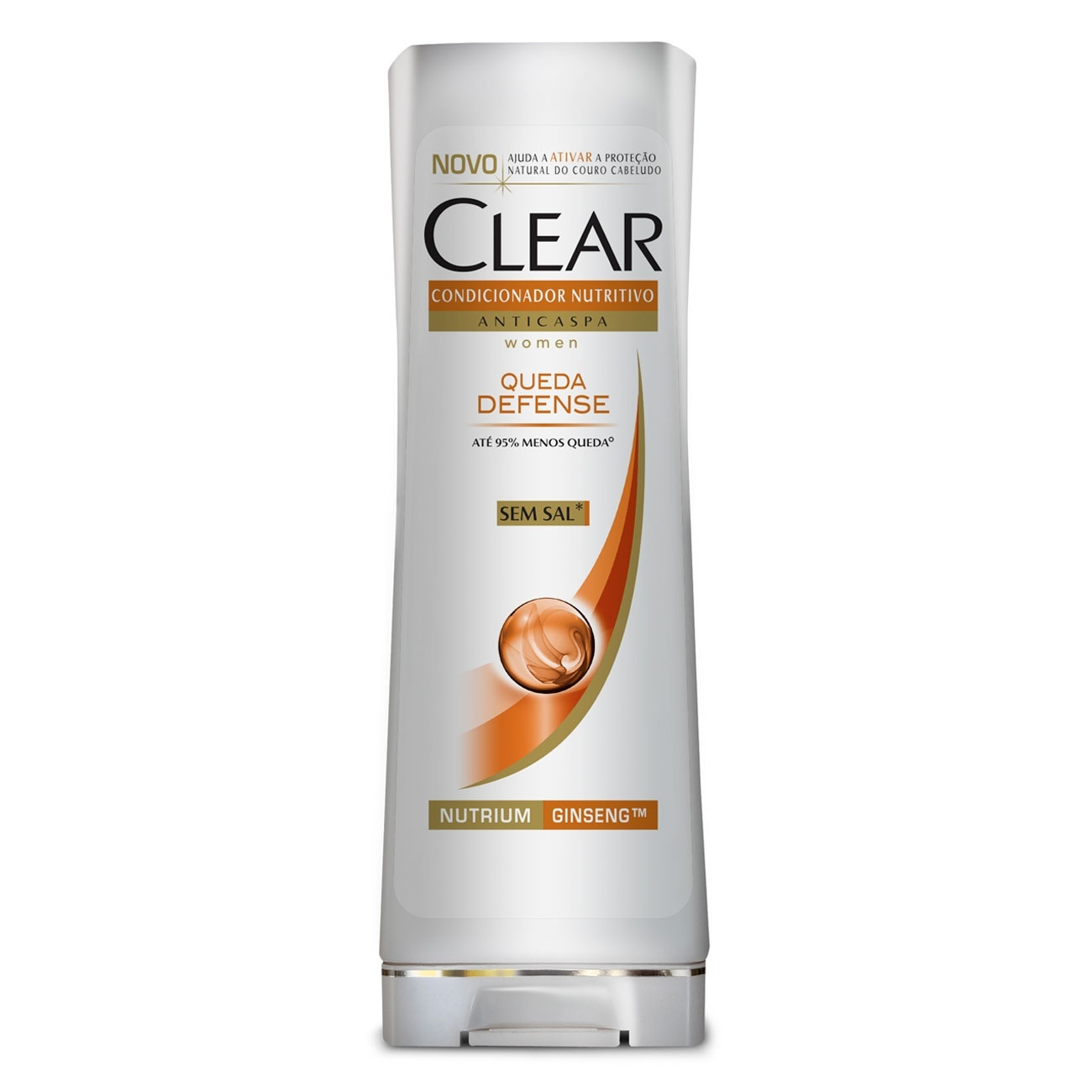 Condicionador Anticaspa CLEAR Women Queda Defense 200ml